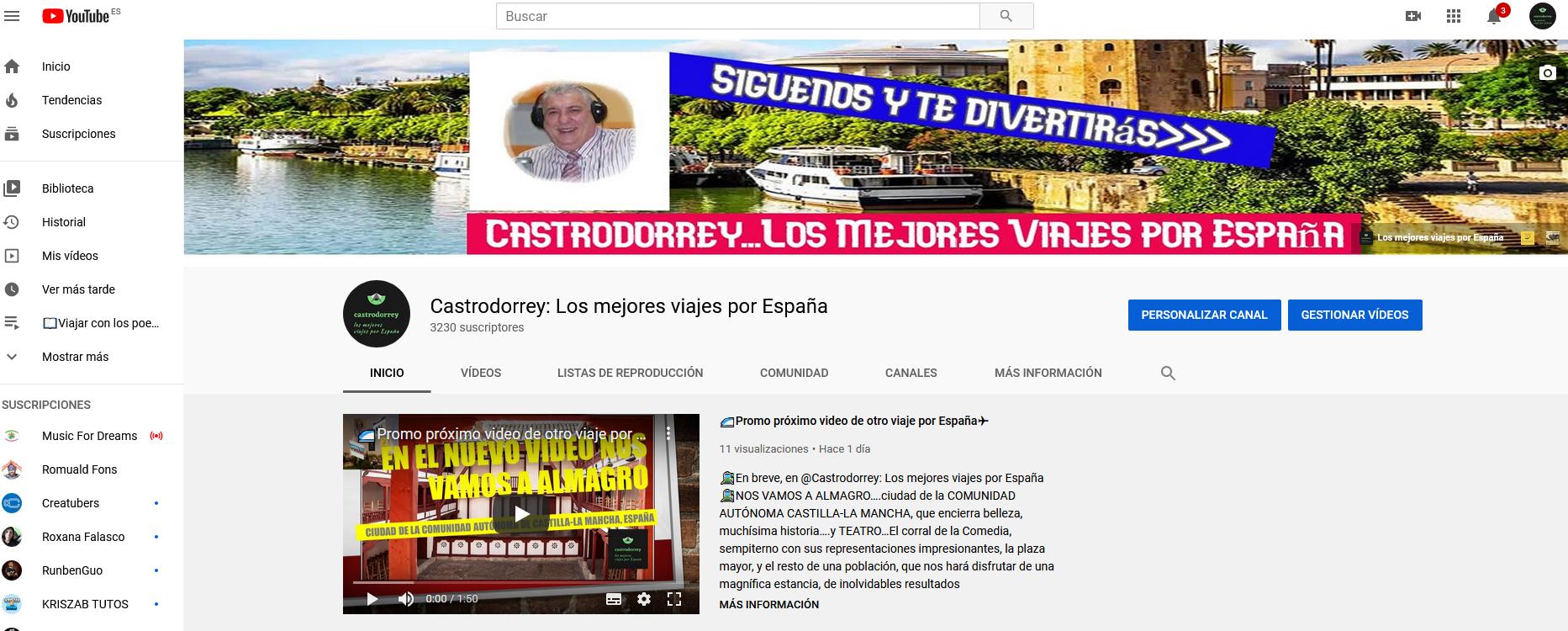 Youtuber con Castrodorrey