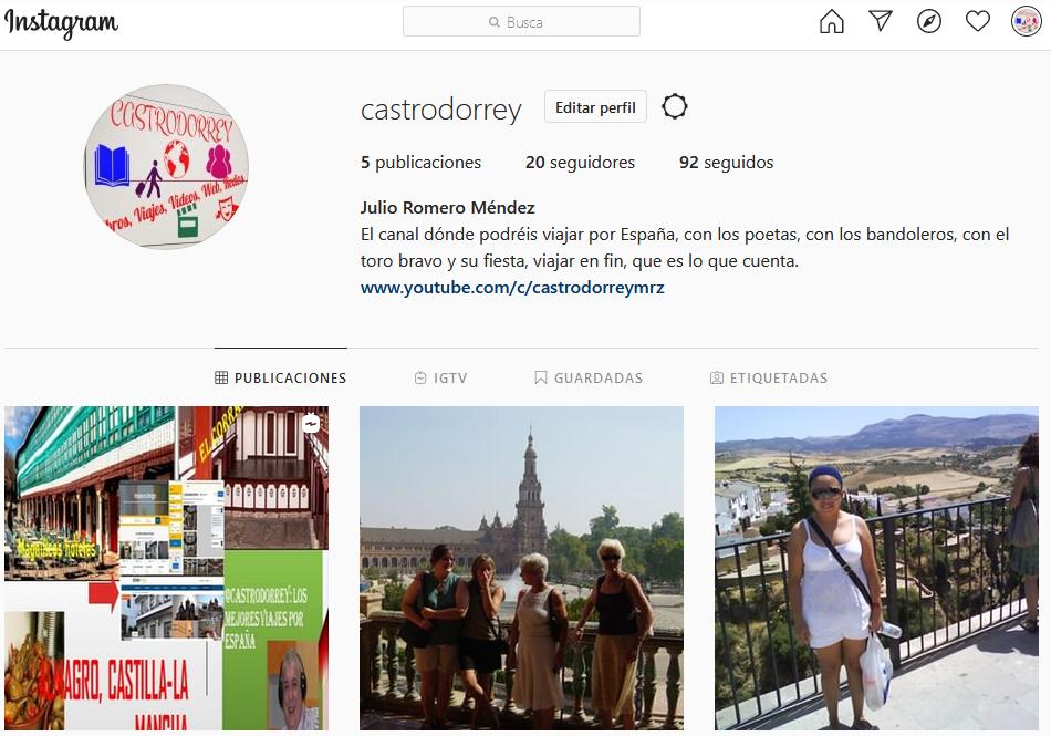 Instagram con Castrodorrey